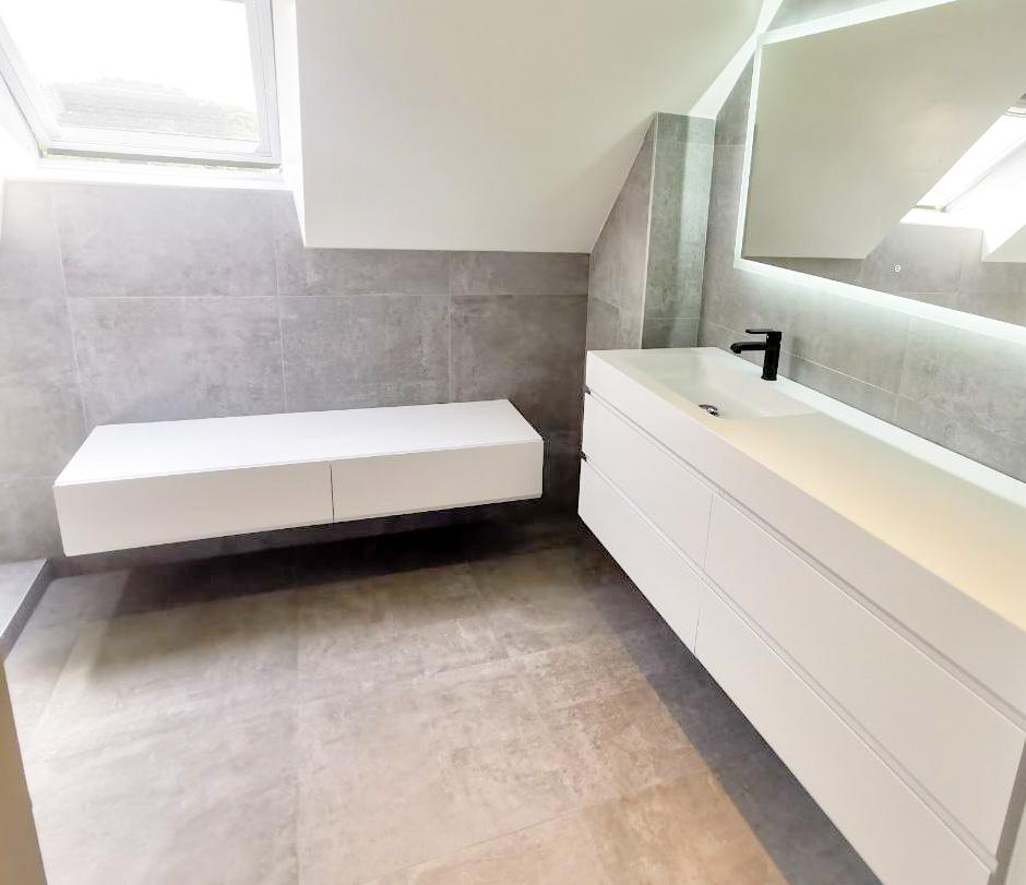 Salle de bain à Guidel - Petit4