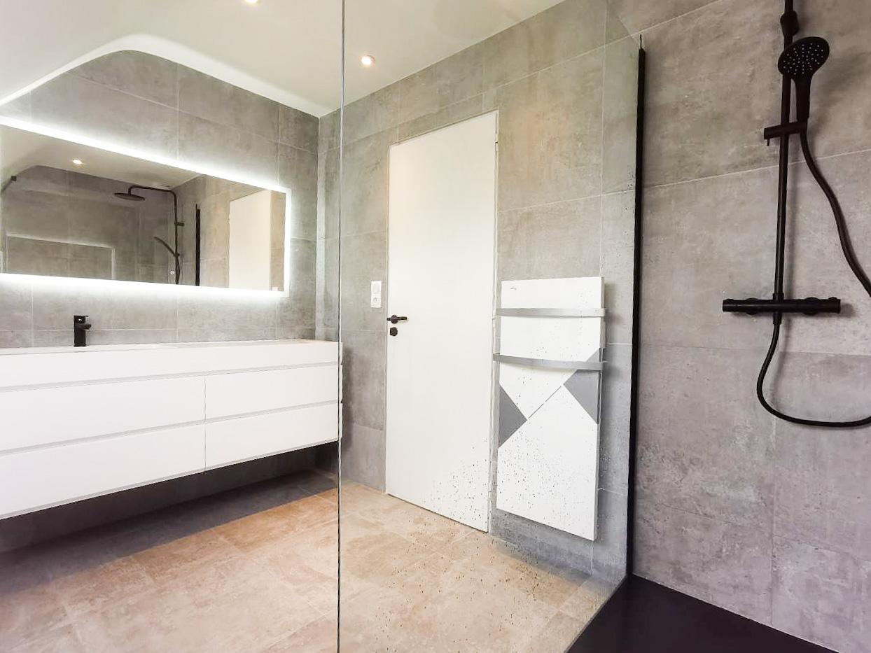 Salle de bain à Guidel - Petit2